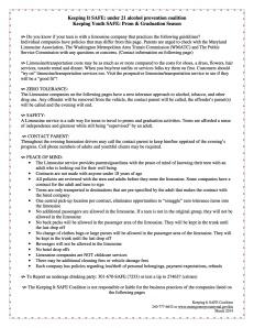 Parent Information Limousine Companies 03.2014